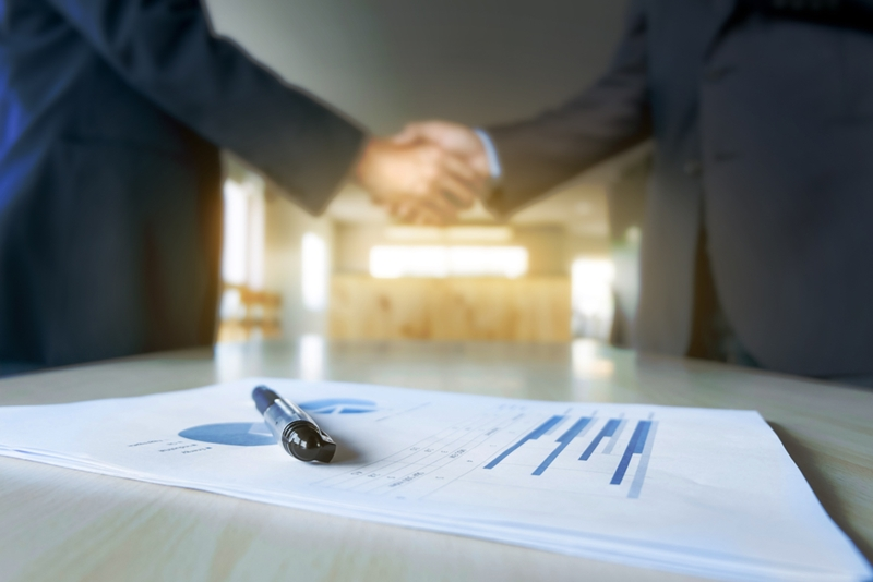 Whether a written agreement drawn up can determine the steps involved in business dissolution.